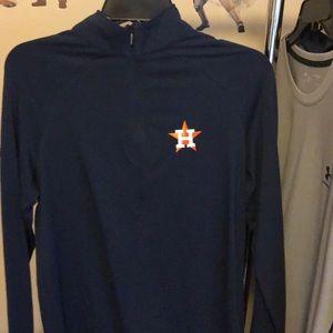 Under Armour Tops - NWT Under Armour Houston Astros long sleeve blue